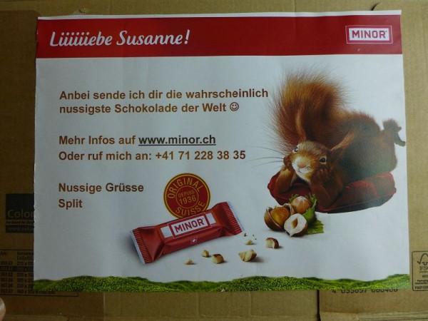 Minor-Schokolade