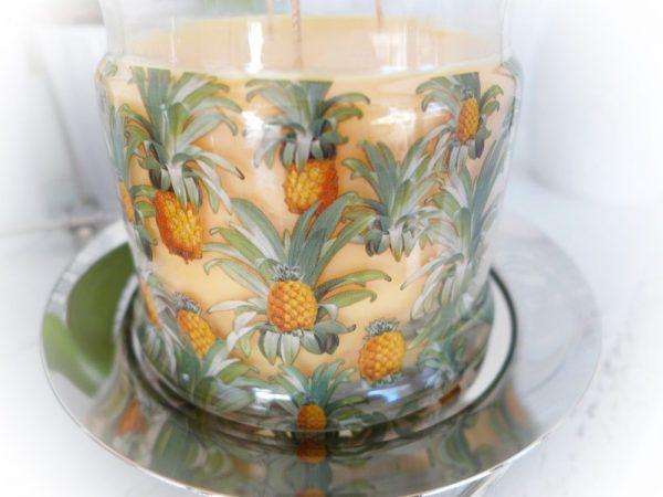 Duftwachsglas Ananas Zuckerrohr