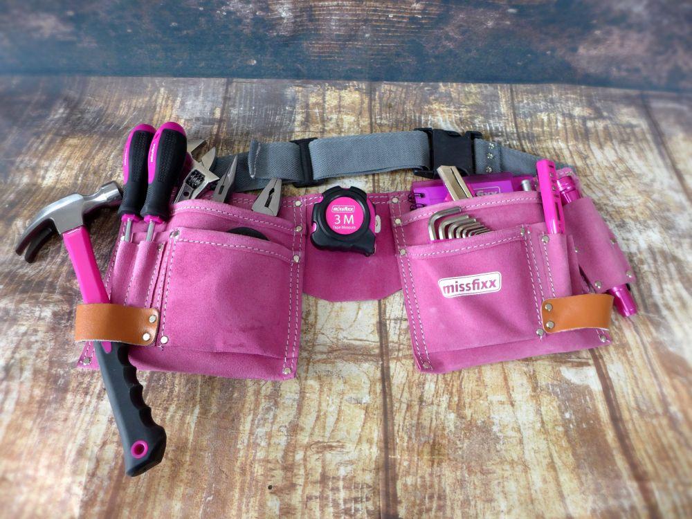 Missfixx - Richtige Frauen werkeln in pink » Sannes Block