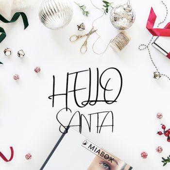 "MIABOX ""HELLO SANTA"" –EDITION DEZEMBER 2018"