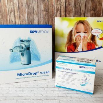 MicroDrop® mesh Inhalationsgerät